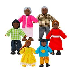 Happy African American Family - Hape Toys